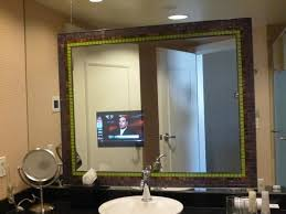 Mirror Tvs For Bathroom The Bathroom In Mirror Tv Picture Of Caesars Palace Las Vegas