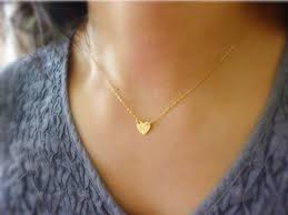personalized heart pendant heart initial necklace goldinitial heart necklace