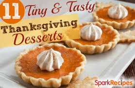 11 tiny tasty thanksgiving desserts slideshow sparkrecipes