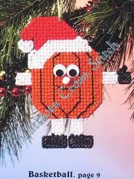 plastic canvas pattern sports ornaments plastic