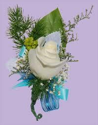 Turquoise Corsage Corsages U0026 Boutonnières Wisteria Flower Shop