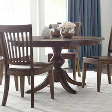 54 inch round dining table the nook 54 inch round dining table maple kincaid furniture