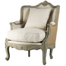 French Style Armchair Jute Adele Armchair Vintage French Style