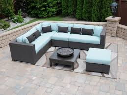 Outdoor Patio Furniture Sectionals Aluminum Patio Furniture Conversation Sets Sectional Outdoor