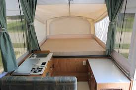 Pop Up Camper Curtains Coleman Stella U2013 Or How An Old Pop Up Finds A New Identity Svavvy Com