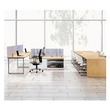 National Waveworks Conference Table National Waveworks Executive Desk Modular Office Furniture