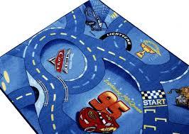 Kids Race Track Rug by Kids Carpet Rug Disney Cars Carpet Rug Street Play Carpet