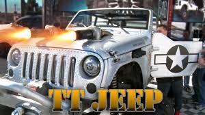 hauk designs sema machine gun twin turbo wwii jeep anything u0026 every thing with