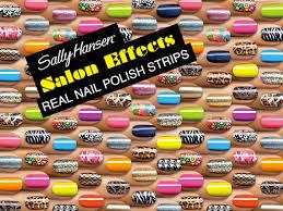 making nail art easy with sally hansen salon effects real nail