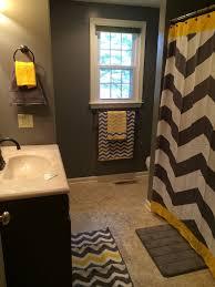 yellow and gray bathroom ideas black white and yellow bathroom theme thesouvlakihouse
