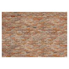 provincial wallcoverings 8 741 exposed brick wall mural lowe u0027s