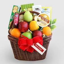 gourmet gift baskets bountiful fruit gourmet gift basket world market