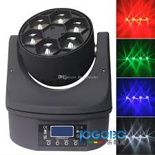 small led driving mini moving stage light 6x15w rgbw 4in1 bee