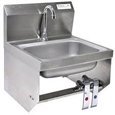 stainless steel hand sink wall mount bk resources wall mounted stainless steel hand sink with 3 5