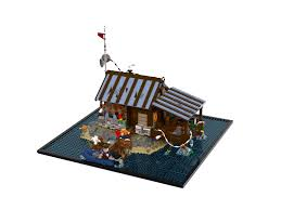 lego ideas beach hut