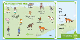the gingerbread man ks1 storybook resources page 1