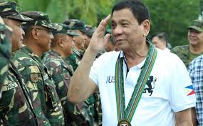 martial law enacted on philippines island