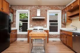 Brick Kitchen Ideas Brick Backsplash Kitchen Ideas Fanabis