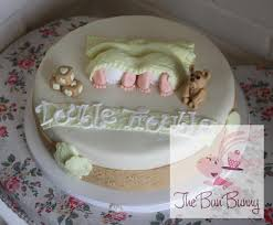 double trouble baby shower cake the bun bunny