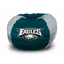 philadelphia eagles nfl bean bag chair by the northwest at bedding com