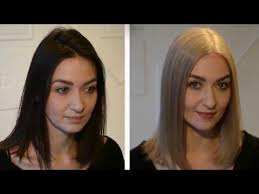 black hair to blonde hair transformations dark hair to ash blonde all the facts you need to know youtube