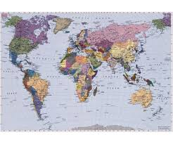 World Map Caribbean by 4 050 World Map
