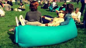 Blow Up Furniture by Outdoor Inflatable Sofa Youtube