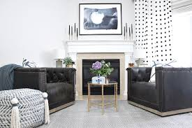 Raymour And Flanigan Design Center by Fireplace Area Makeover Reveal Cuckoo4design