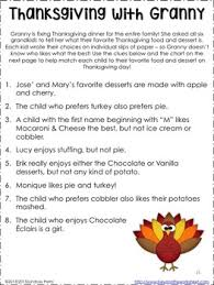 thanksgiving fall and middle school math activities by