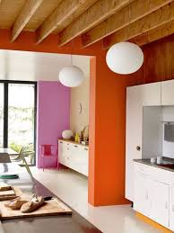 Orange Interior 176 Best Walls Images On Pinterest Colors Fabric Wallpaper And