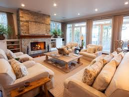 inviting living room in lake tahoe retreat linda mccall hgtv