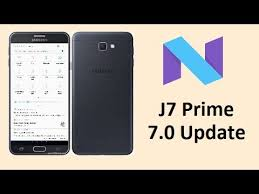 prime android galaxy j7 prime android 7 0 nougat update link review
