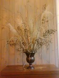 Home Decor Branches Dried Crape Myrtle Seed Pods Pampas Grass And Corkscrew Willow