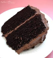 chocolate dr pepper cake with dr pepper frosting piece of