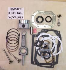 owners manual for kohler 27 hp engine engine rebuild master kit w valves for kohler k341 16hp m16 w 16hp