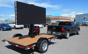 cattle trailer lighted sign mobile premium billboard advertising led signs for sale now