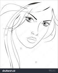 beautiful face sketch beautiful girls face sketches drawing