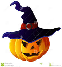scary halloween images free scary halloween pumpkin in witch hat vector eps10 royalty free