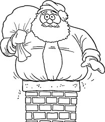 cute santa claus coloring for kids coloring pages pinterest