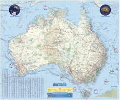 Physical Map Of Australia Australia Detailed Map U2022 Mapsof Net