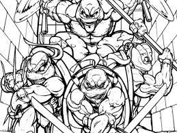 100 ideas teenage mutant ninja turtle coloring emergingartspdx