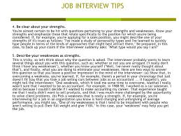 job interview personality questions job interview tips