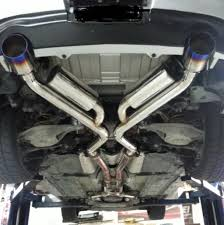 nissan juke exhaust upgrade motordyne shockwave e370 cat back exhaust system u2013 370z g37