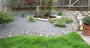 Rock Backyard Landscaping Ideas Low Maintenance Rock Landscape Ideas Nomadik Co