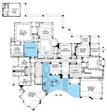 mediterranean floor plans with courtyard chic idea home plans with courtyards 14 rear courtyard