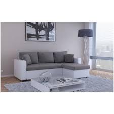 canap d angle blanc et gris canapé d angle convertible couleur blanc et gris achat