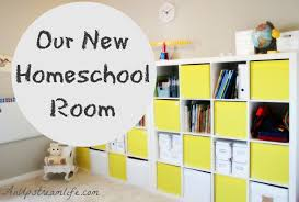 our new homeschool room an upstream life