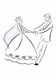 wedding coloring pictures free download