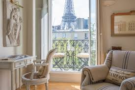 Eiffel Tower Window Curtains by 1 Bedroom Paris Accommodation With Romantic Eiffel Tower View