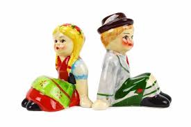 funny salt and pepper shakers unique salt and pepper shakers german couple